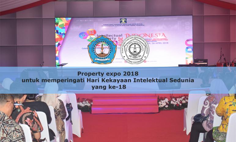Property EXPO 2018 untuk memperingati Hari Kekayaan Intelektual Sedunia yang ke-18