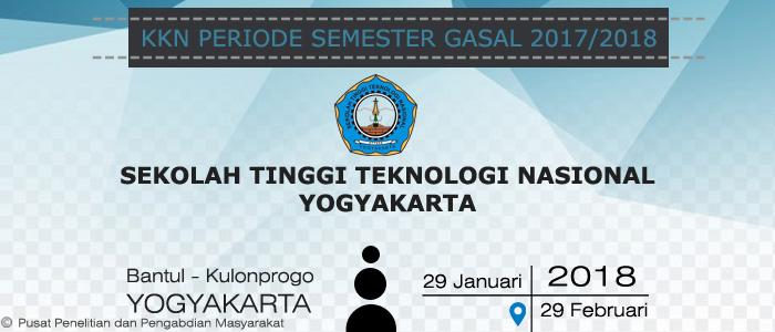 Daftar Kelompok Peserta KKN Periode Semester Gasal 2017/2018